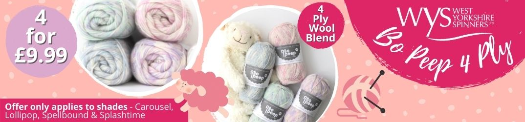 West Yorkshire Spinners Bo Peep 4 Ply