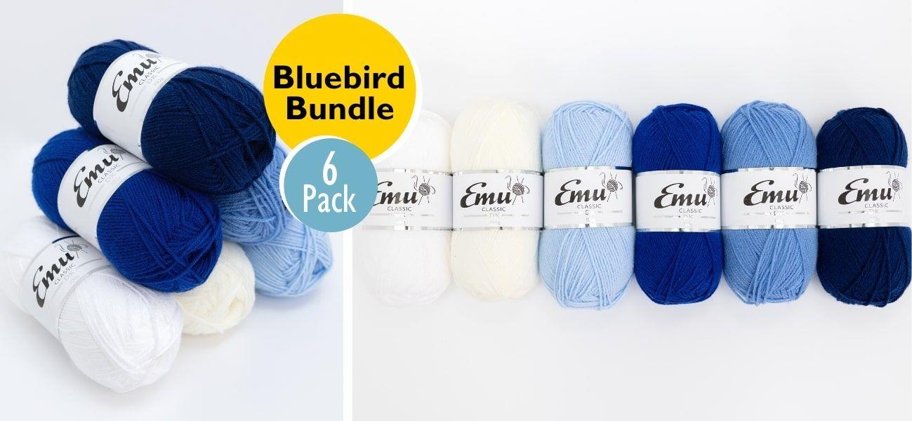 Emu Classic DK Bluebird Bundle 6 Ball