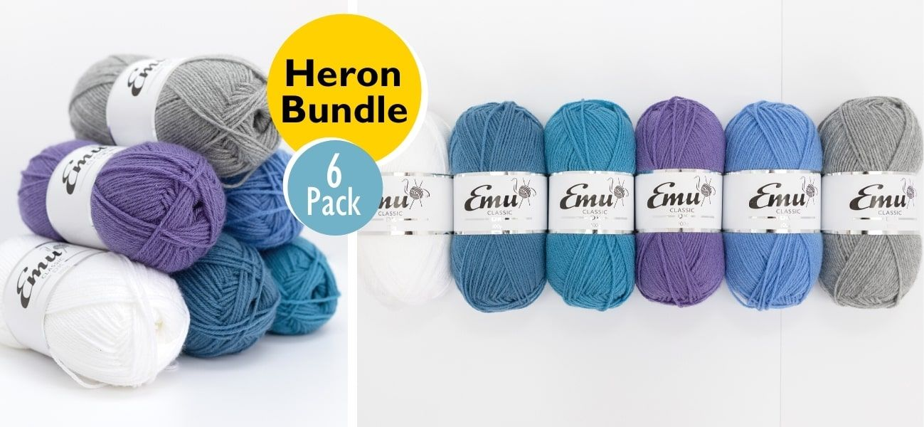 Emu Classic DK Heron Bundle 6 Ball