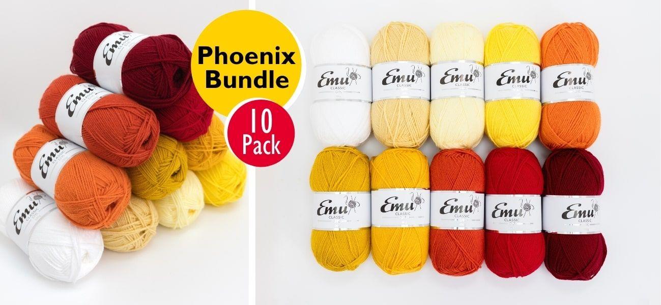 Emu Classic DK Phoenix Bundle 10 Ball