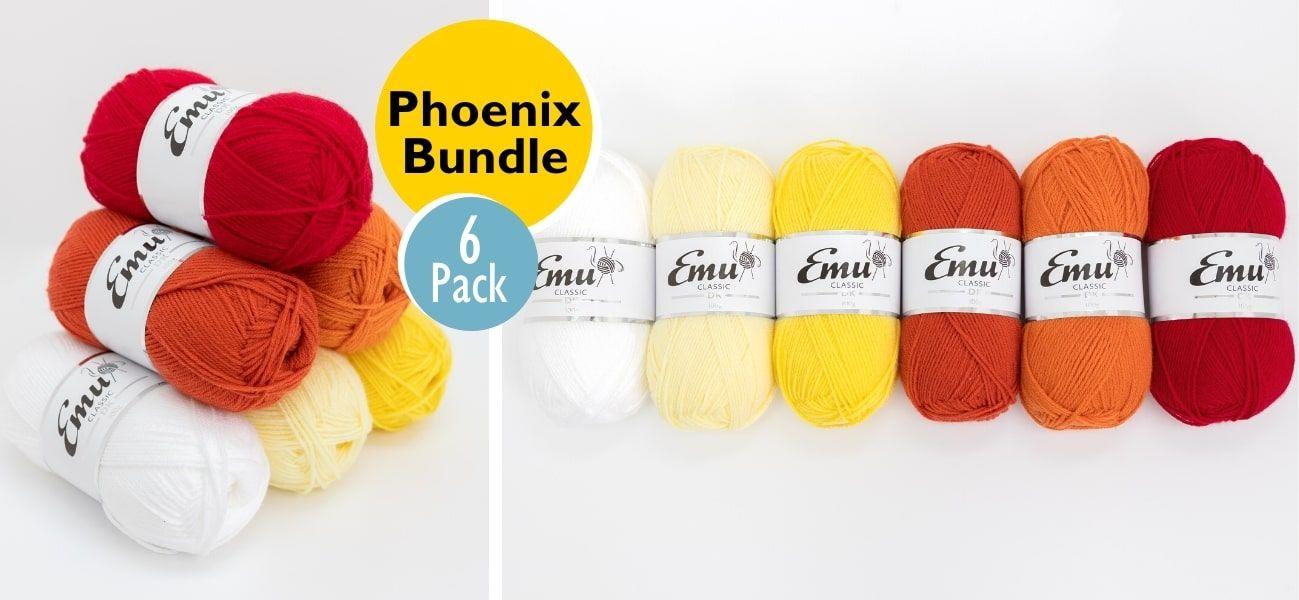 Emu Classic DK Phoenix Bundle 6 Ball