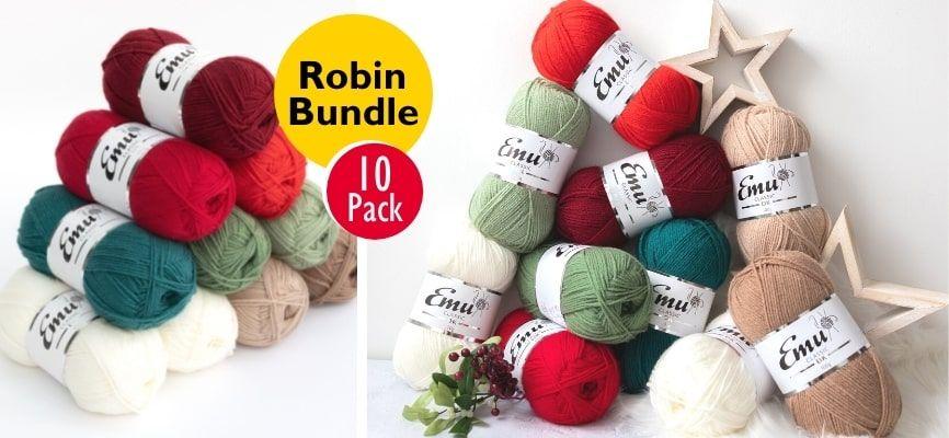 Emu Classic DK Robin 10 Balls