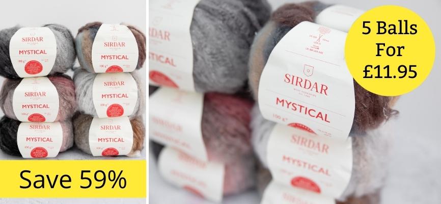 Sirdar Mystical - 5 For £11.95
