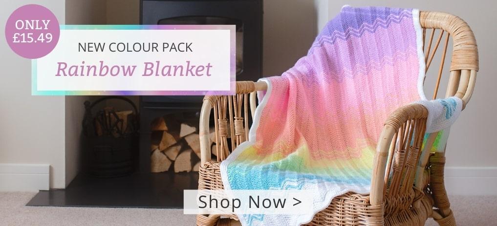Rainbow Blanket - Now in Stock!