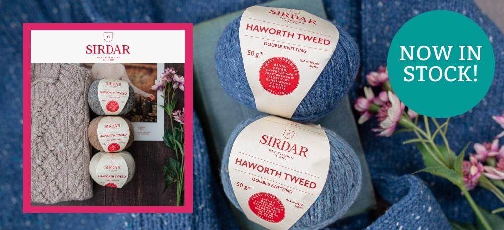 Sirdar Haworth Tweed - Now in Stock