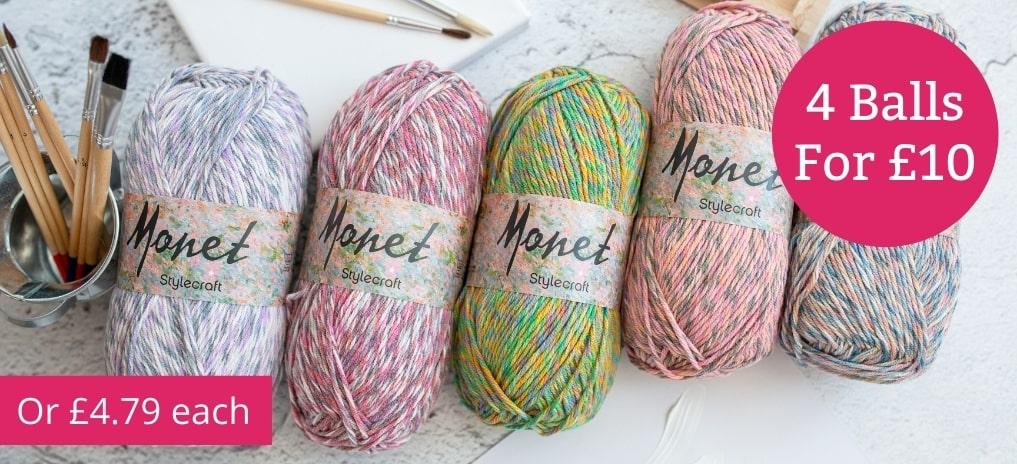 Stylecraft Monet - 4 for £10