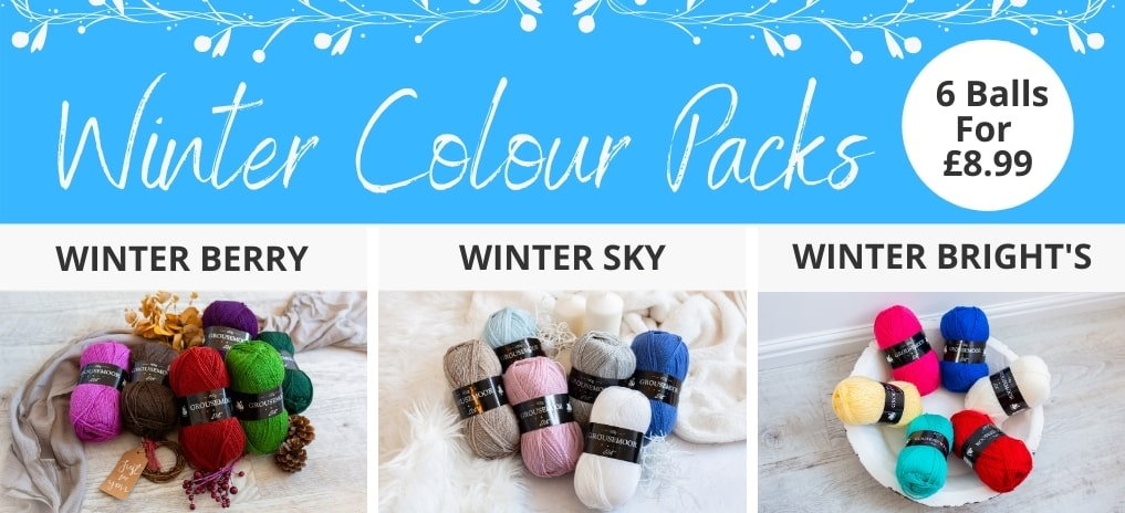 Winter Colour Packs - Only £8.99