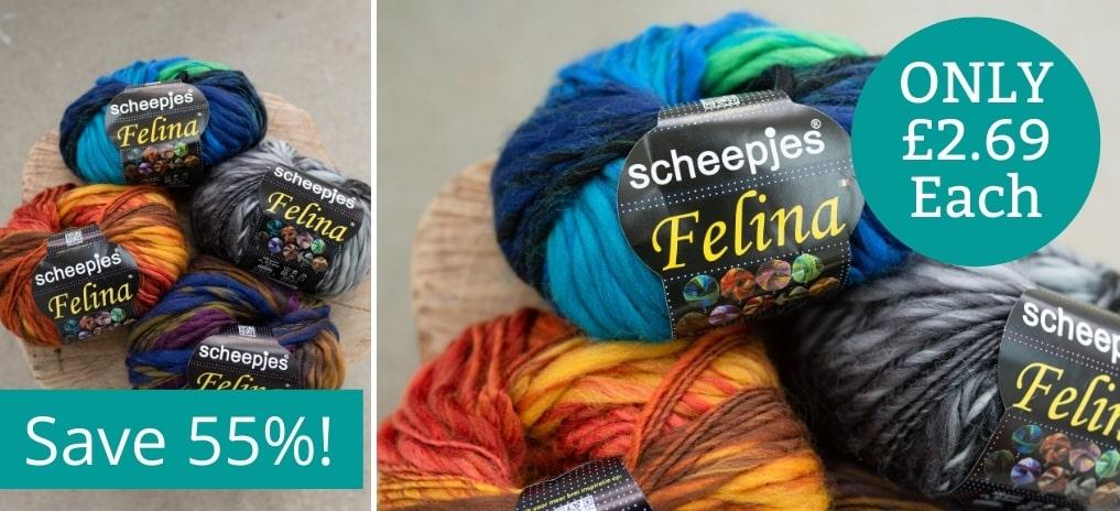 Scheepjes Felina - Only £2.69