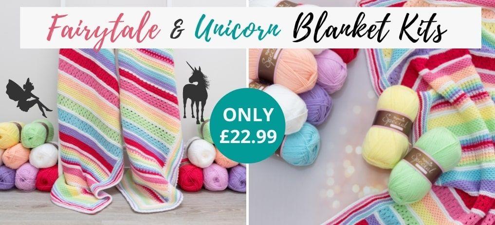 Unicorn & Fairytale Blankets