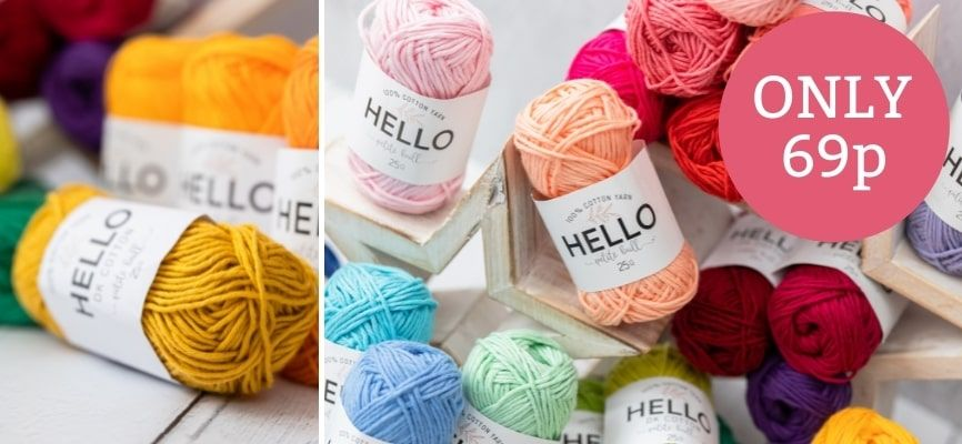 Hello DK Cotton - Only 69p
