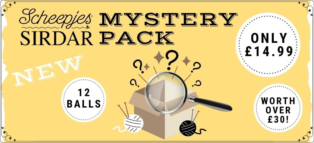 Sirdar & Scheepjes Mystery Pack