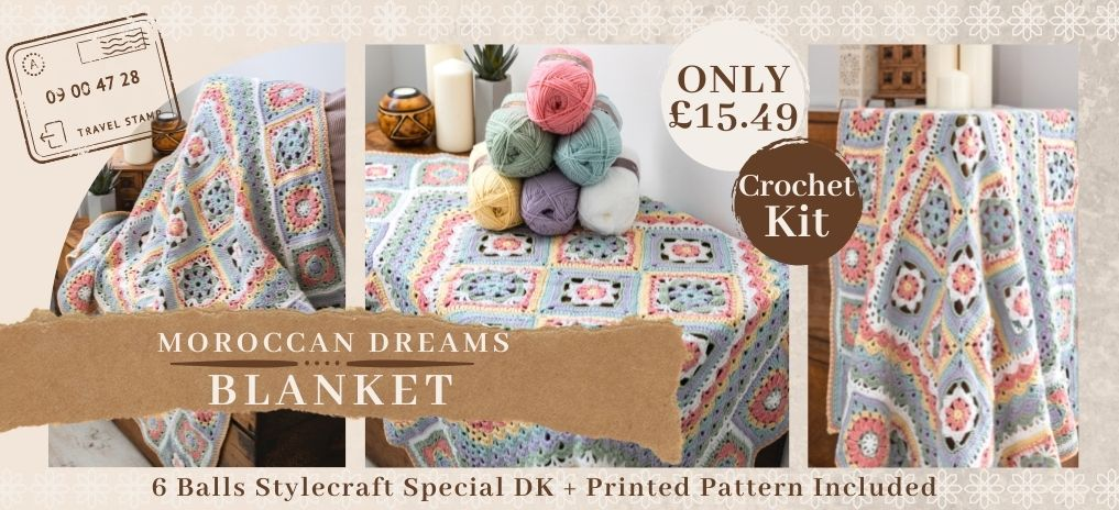 Moroccan Dreams Blanket - Only £15.49