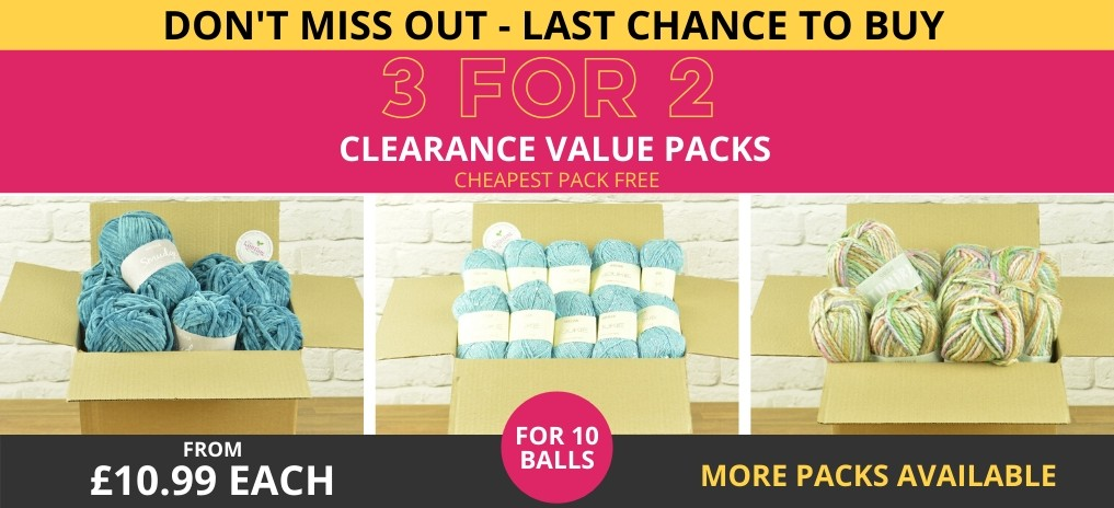 3 for 2 Clearance Value Packs