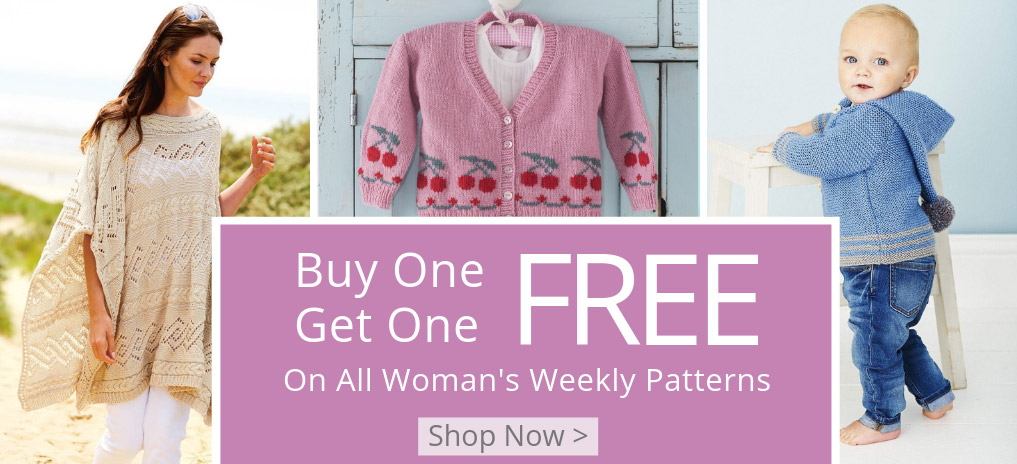 Woman's Weekly Patterns Buy-one-get-one-free