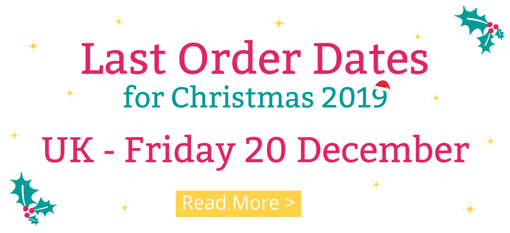 Last Order Dates for Christmas