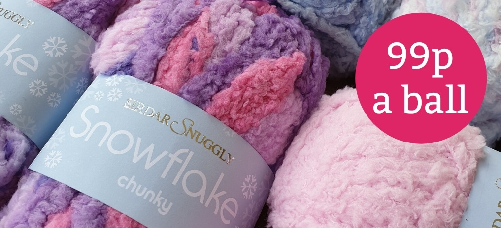 Snuggly Snowflake Chunky - 99p!