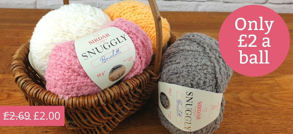 Snuggly Bouclette - £2 a Ball