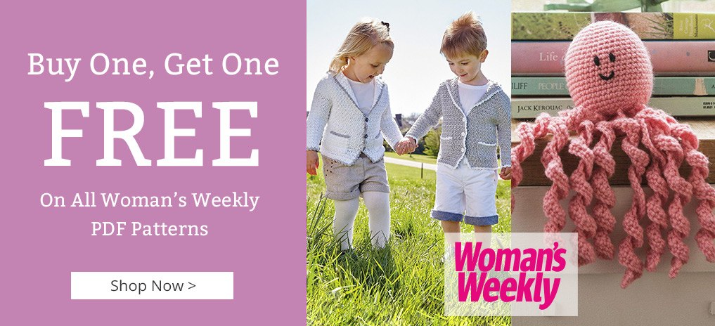 Woman's Weekly Patterns - Buy One Get One FREE